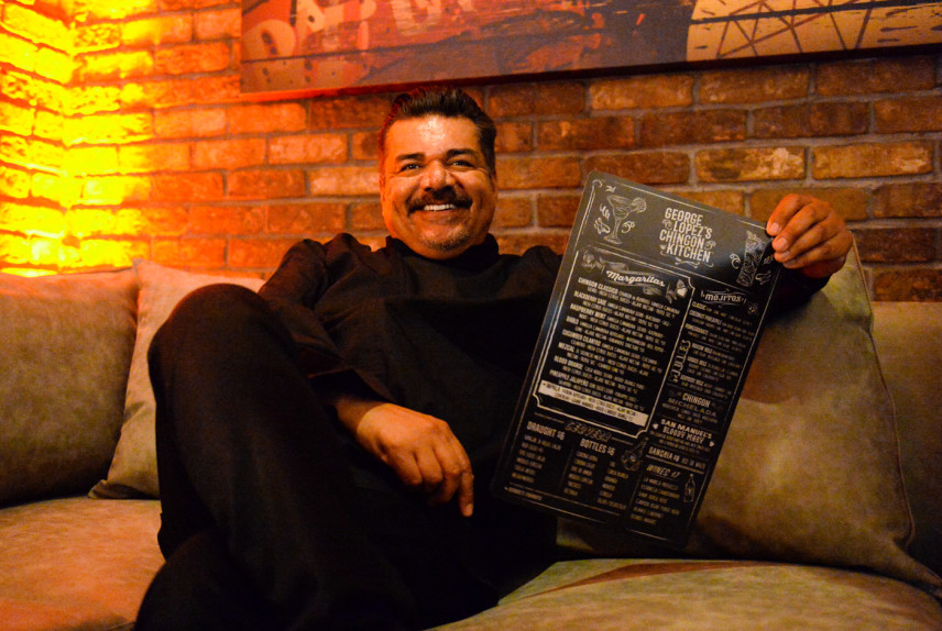 George Lopez recently opened George Lopez's Chingon Kitchen at San Manuel Casino in Highland.